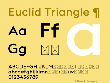 Euclid Triangle