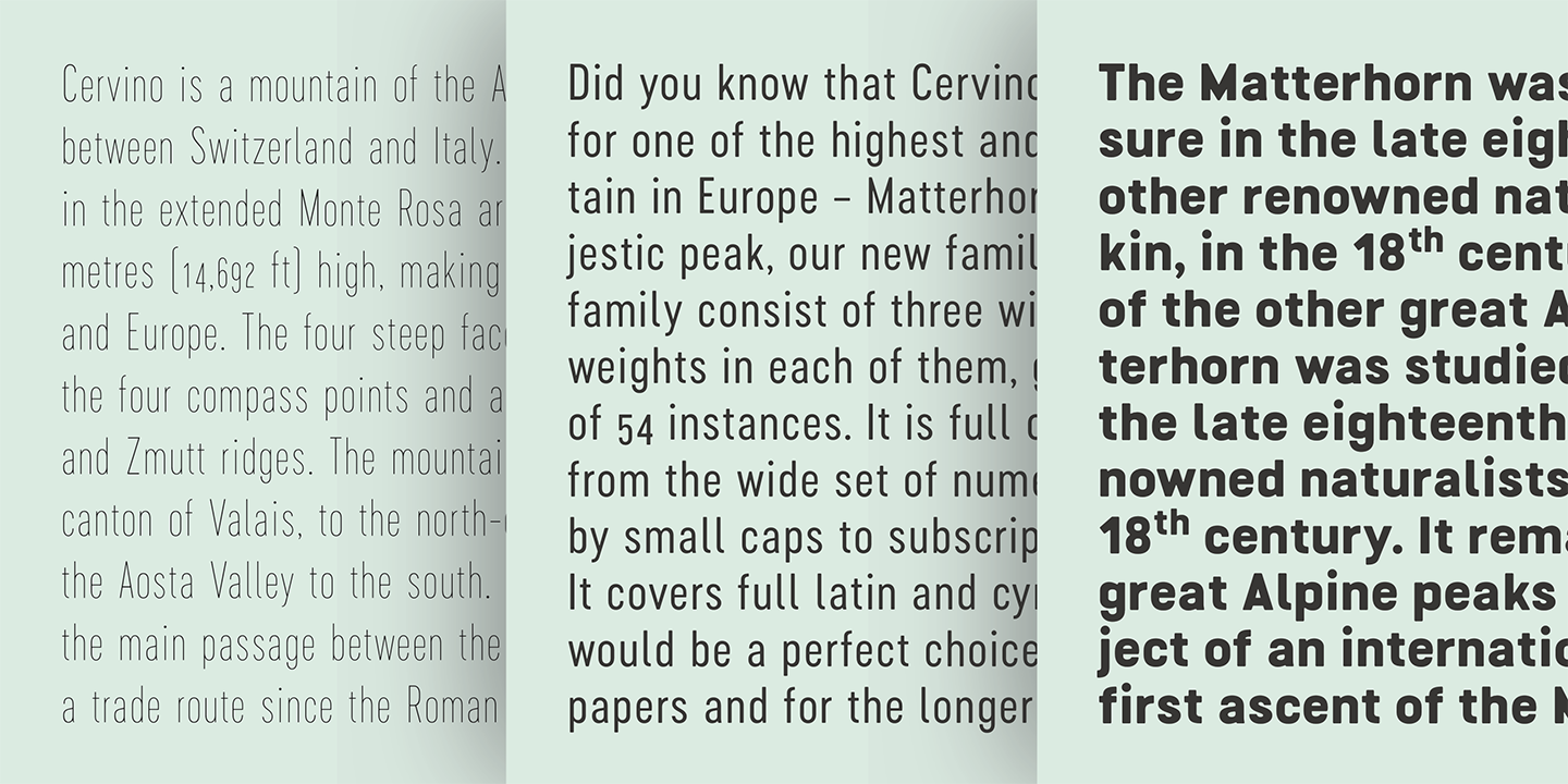 Cervino Expanded